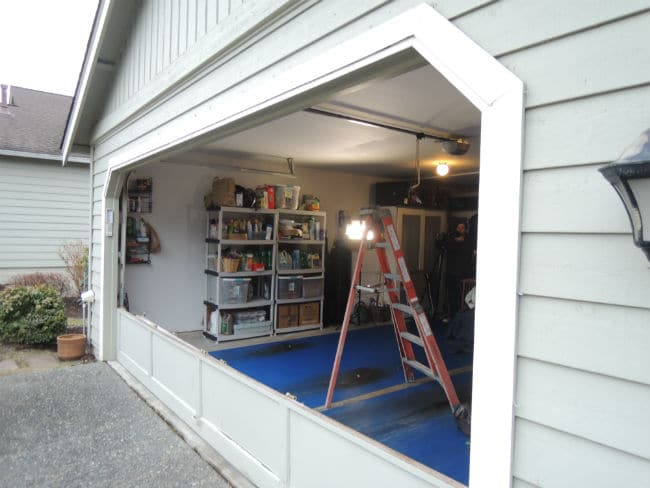 Garage-Door - Bent-Panel-Repair - In Bonney Lake WA By Elite Garage Door & Gate Repair