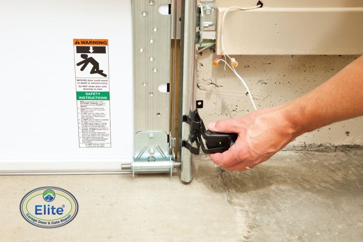 Garage Door Sensors Are Universal